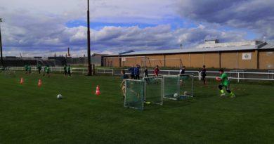 Žáci trénují naplno